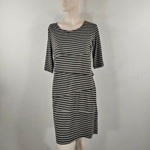 forever 21 womens dress size large pleated front